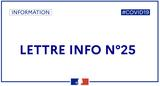 Lettre d'info n°25 Covid-19