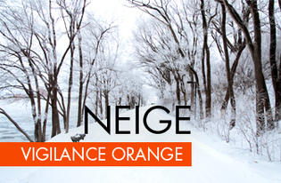 Vigilance Orange Neige-Verglas