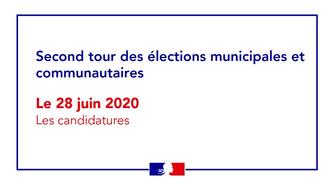 Elections municipales - Candidatures Second tour